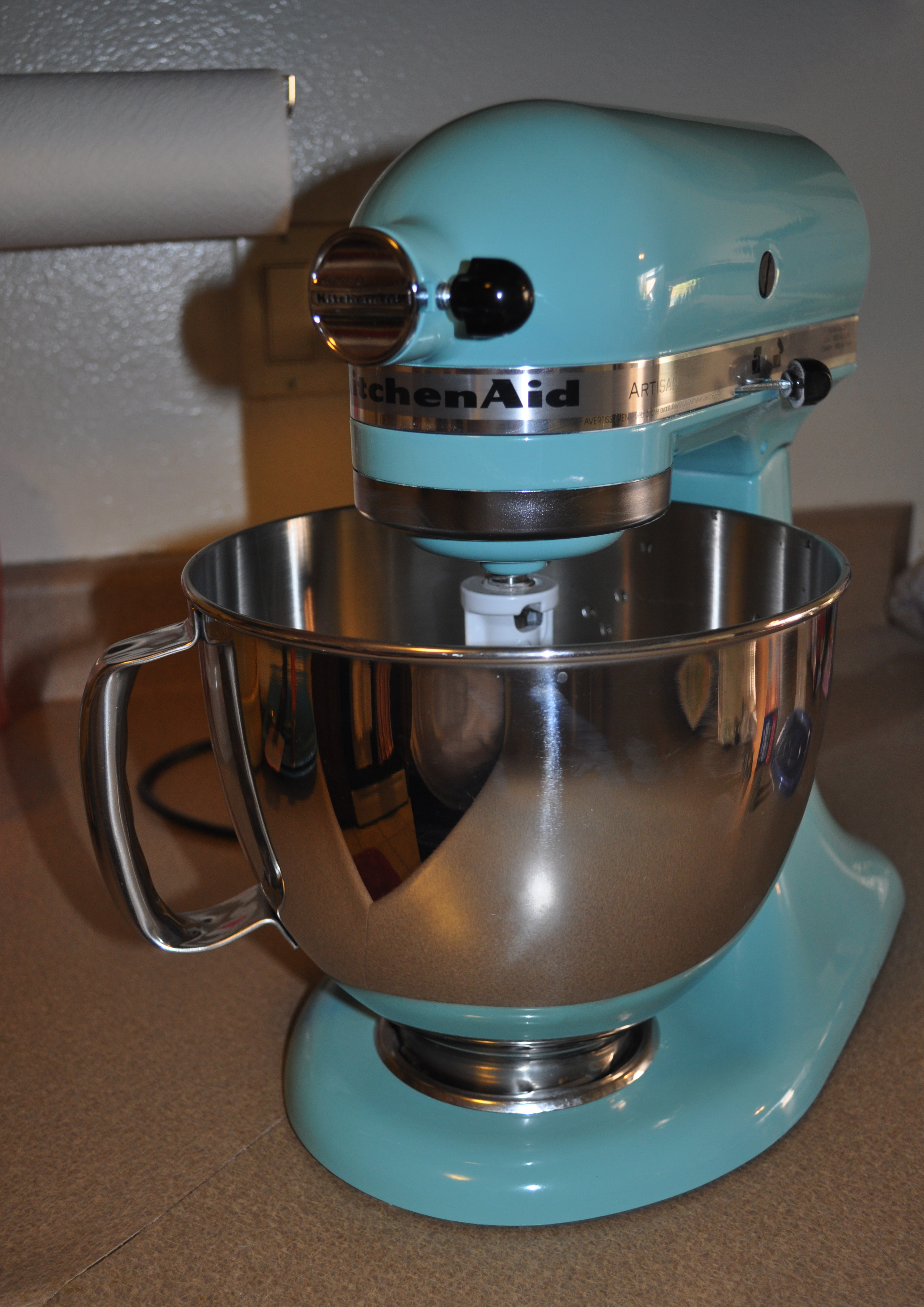 ... Aqua Sky Kitchenaid Mixer