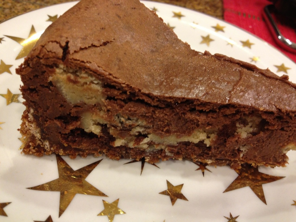 Chocolate Cookie Dough Cheesecake | Cookie Carrie