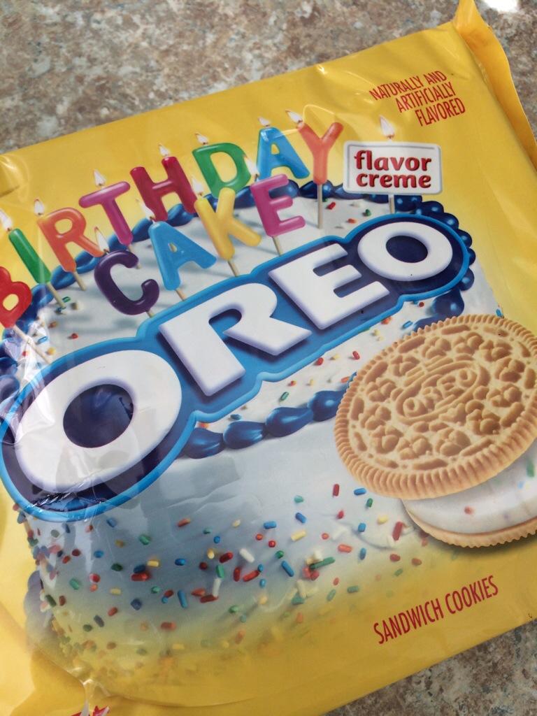 Birthday Cake Golden Oreo Truffles Cookie Carrie