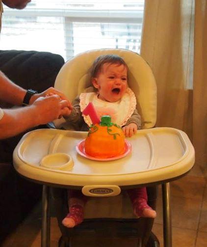 Pumpkin Smash Cake: Pumpkin Smash Cake